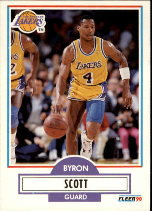 1990-91 Fleer #94 Byron Scott