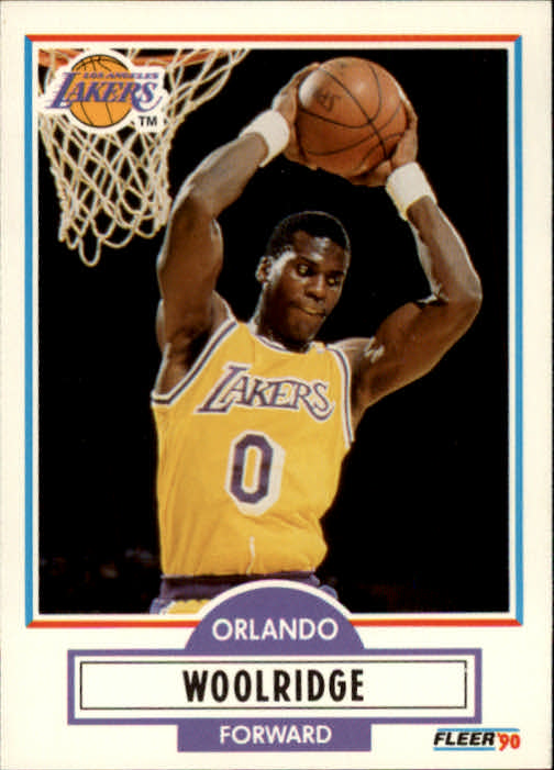 1990-91 Fleer #96 Orlando Woolridge