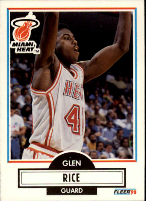1990-91 Fleer #101 Glen Rice RC