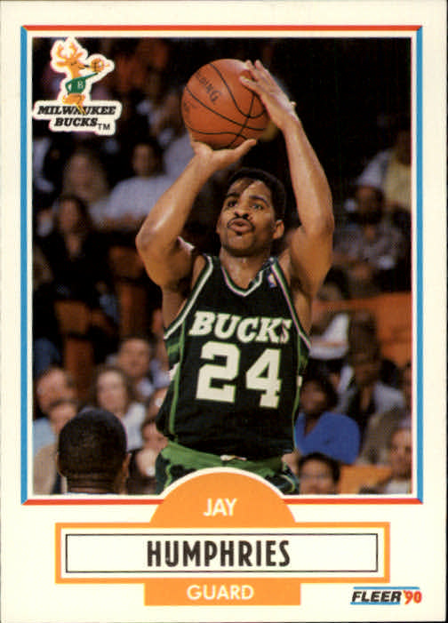 1990-91 Fleer #105 Jay Humphries