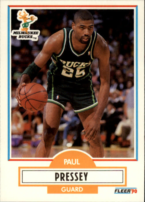 1990-91 Fleer #107 Paul Pressey