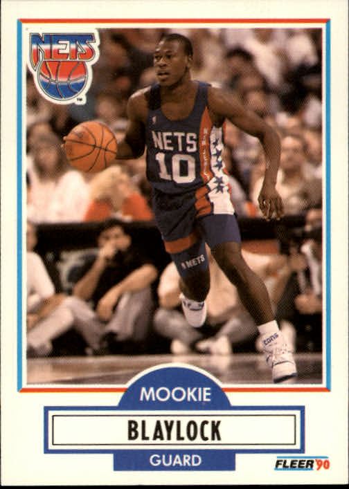 1990-91 Fleer #117 Mookie Blaylock RC