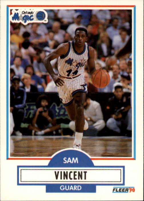 1990-91 Fleer #137 Sam Vincent