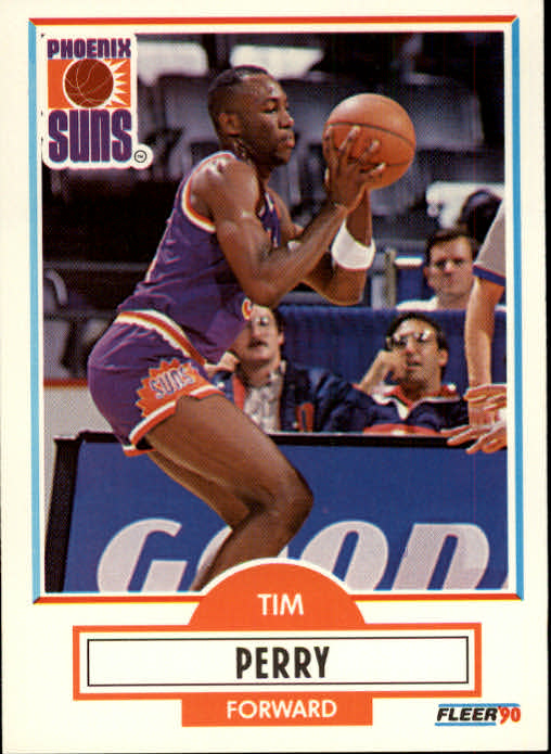 1990-91 Fleer #151 Tim Perry