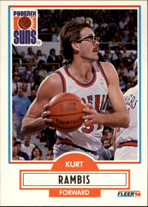 1990-91 Fleer #152 Kurt Rambis