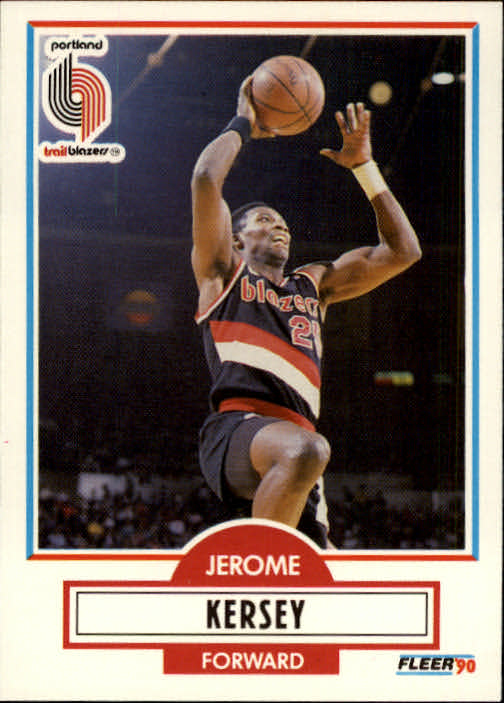 1990-91 Fleer #157 Jerome Kersey