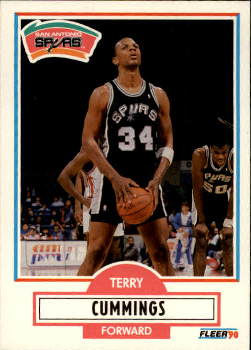 1990-91 Fleer #170 Terry Cummings