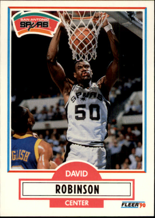 1990-91 Fleer #172 David Robinson