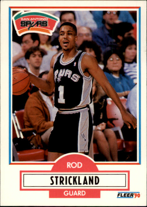 1990-91 Fleer #173 Rod Strickland