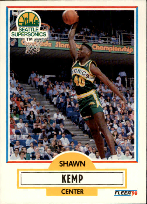 1990-91 Fleer #178 Shawn Kemp RC