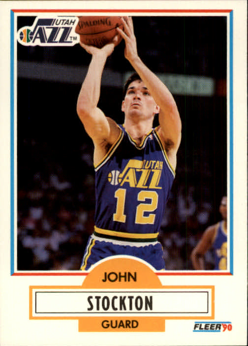 1990-91 Fleer #189 John Stockton