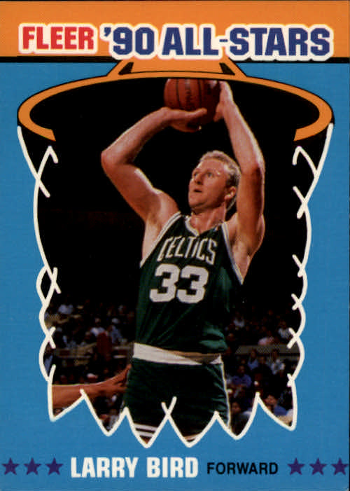 1990-91 Fleer All-Stars #2 Larry Bird