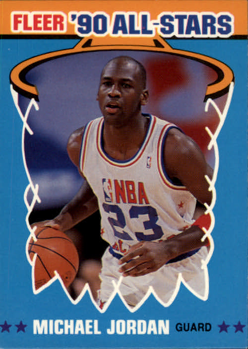 1990-91 Fleer All-Stars #5 Michael Jordan