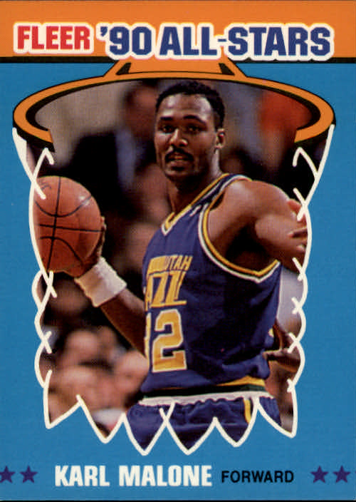 1990-91 Fleer All-Stars #7 Karl Malone
