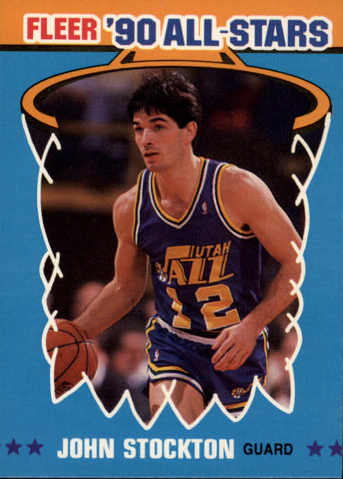 1990-91 Fleer All-Stars #9 John Stockton