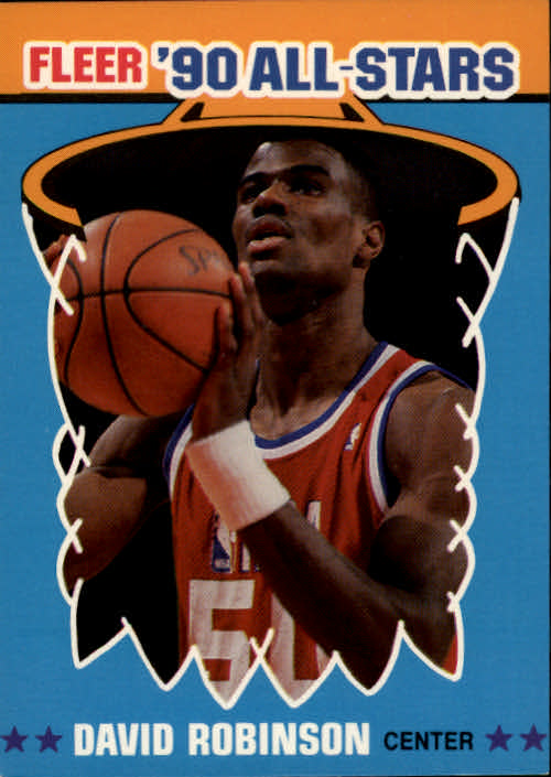 1990-91 Fleer All-Stars #10 David Robinson
