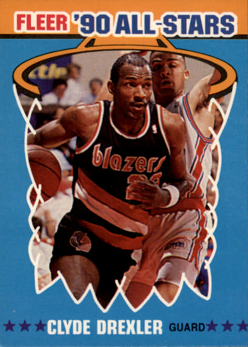 1990-91 Fleer All-Stars #11 Clyde Drexler