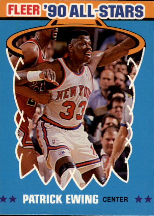 1990-91 Fleer All-Stars #12 Patrick Ewing