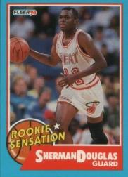 1990-91 Fleer Rookie Sensations #10 Sherman Douglas