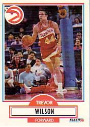 1990-91 Fleer Update #U5 Trevor Wilson