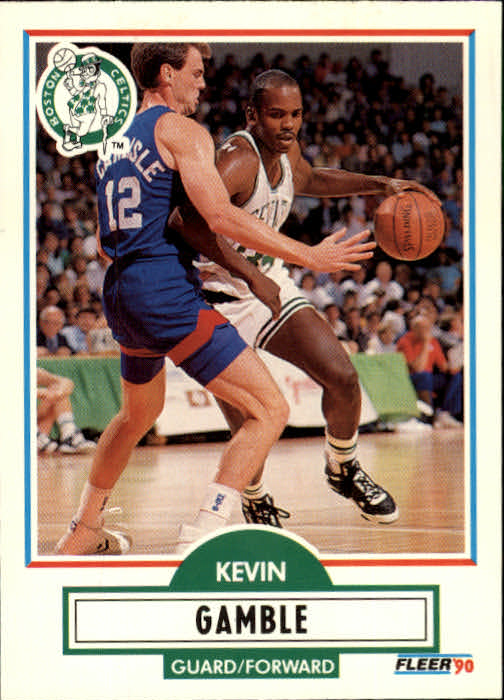 1990-91 Fleer Update #U8 Kevin Gamble FFC
