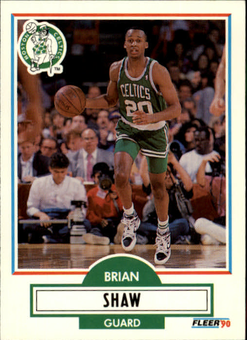 1990-91 Fleer Update #U9 Brian Shaw