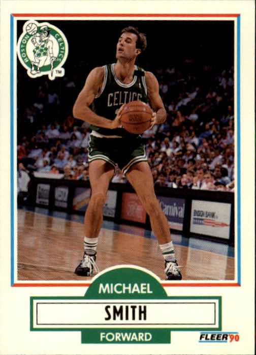 1990-91 Fleer Update #U10 Michael Smith