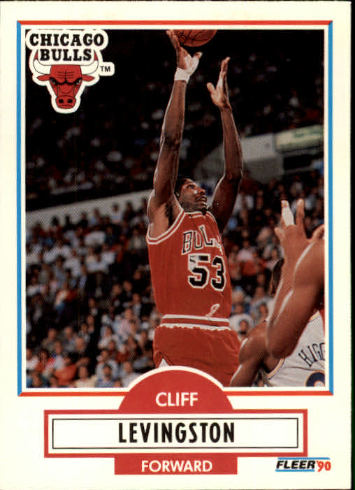 1990-91 Fleer Update #U15 Cliff Levingston