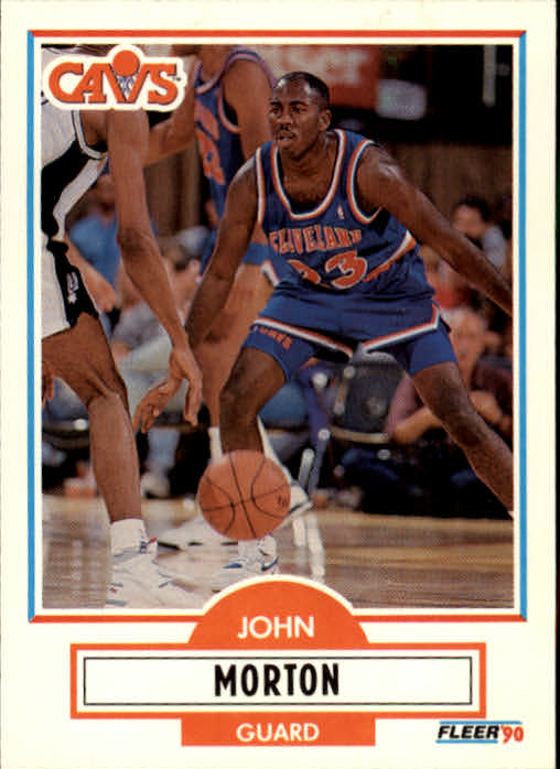 1990-91 Fleer Update #U17 John Morton