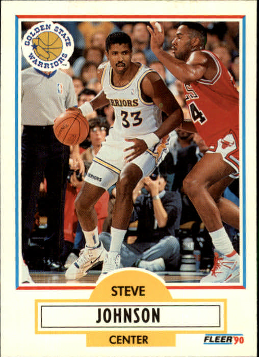 1990-91 Fleer Update #U33 Steve Johnson