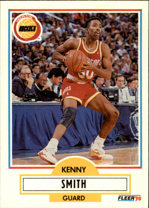 1990-91 Fleer Update #U36 Kenny Smith