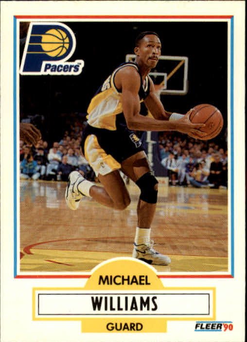 1990-91 Fleer Update #U39 Micheal Williams FFC UER