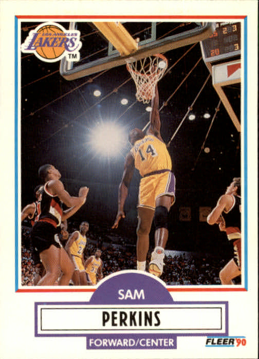 1990-91 Fleer Update #U44 Sam Perkins