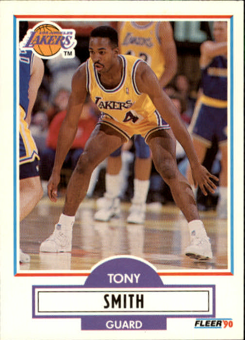 1990-91 Fleer Update #U45 Tony Smith RC