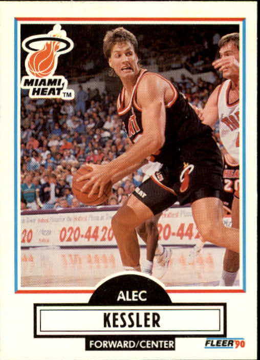 1990-91 Fleer Update #U50 Alec Kessler RC
