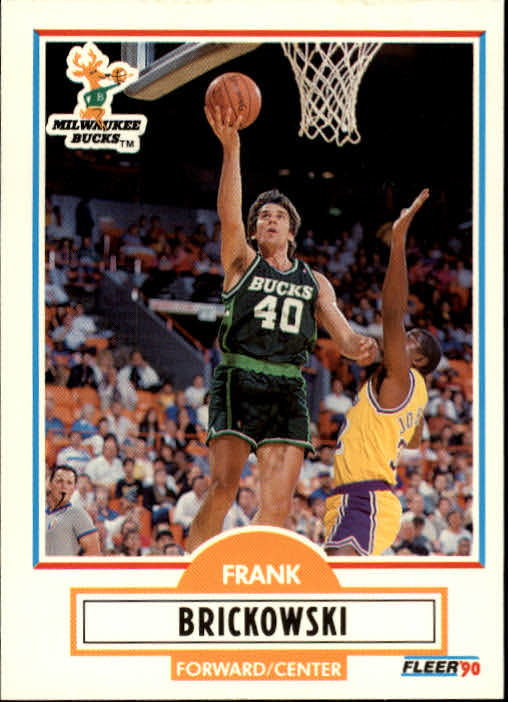 1990-91 Fleer Update #U52 Frank Brickowski