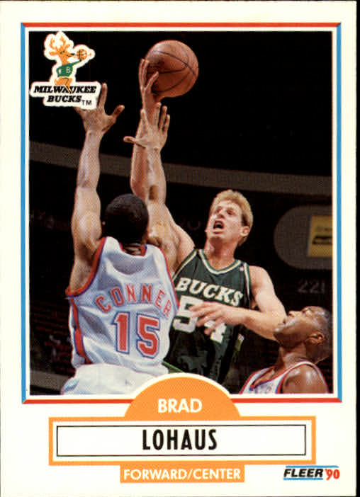 1990-91 Fleer Update #U54 Brad Lohaus