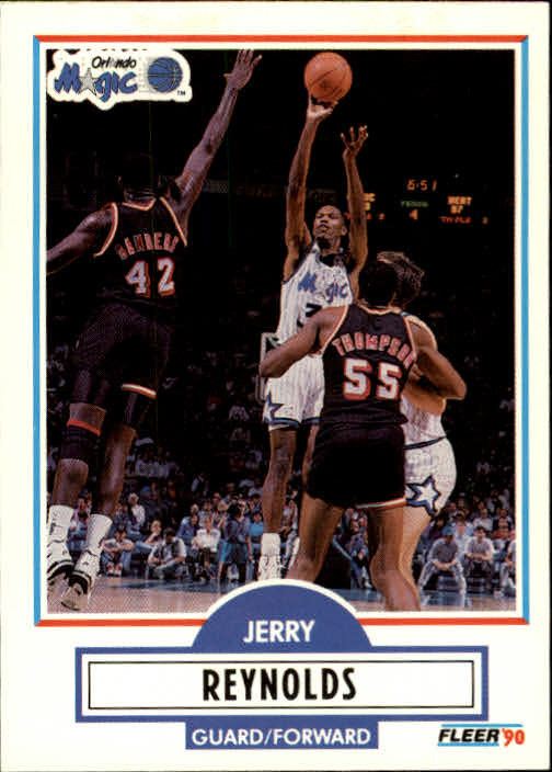 1990-91 Fleer Update #U67 Jerry Reynolds