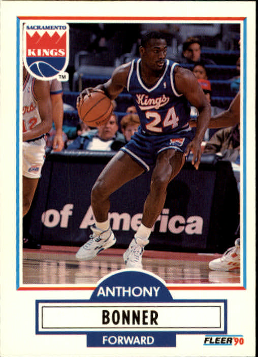 1990-91 Fleer Update #U82 Anthony Bonner RC