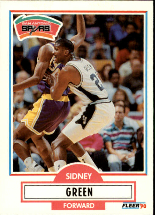 1990-91 Fleer Update #U88 Sidney Green