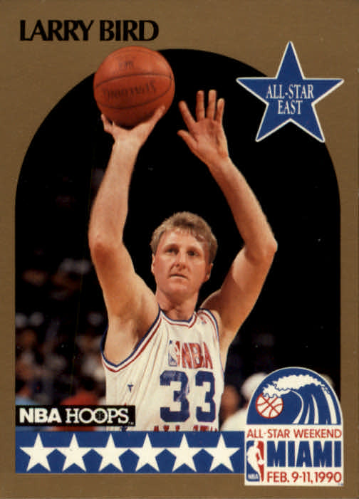 1990-91 Hoops #2 Larry Bird AS SP