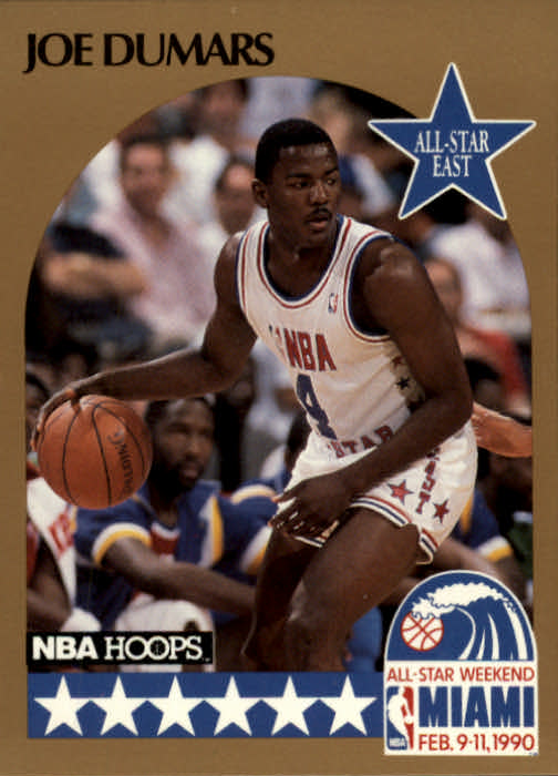 1990-91 Hoops #3 Joe Dumars AS SP