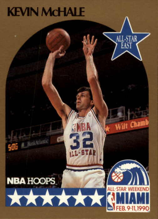 1990-91 Hoops #6 Kevin McHale AS SP