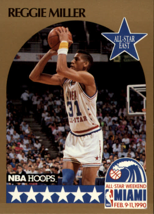 1990-91 Hoops #7 Reggie Miller AS SP