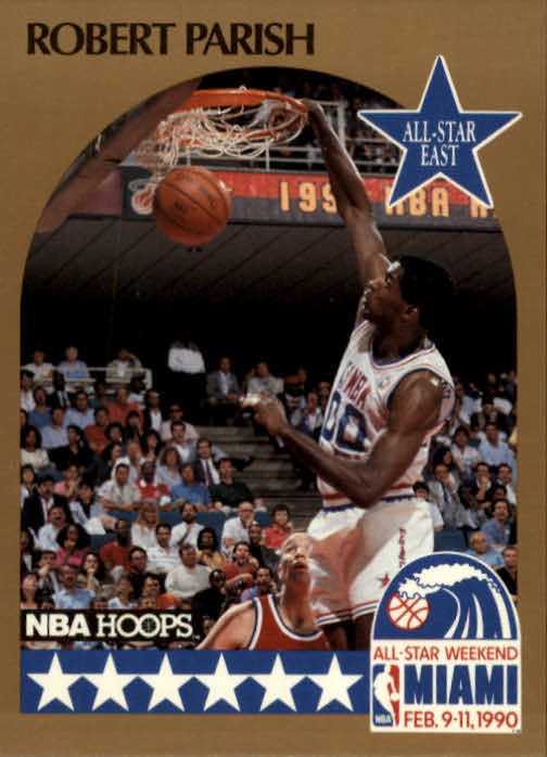 1990-91 Hoops #8 Robert Parish AS SP