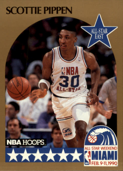 1990-91 Hoops #9 Scottie Pippen AS SP