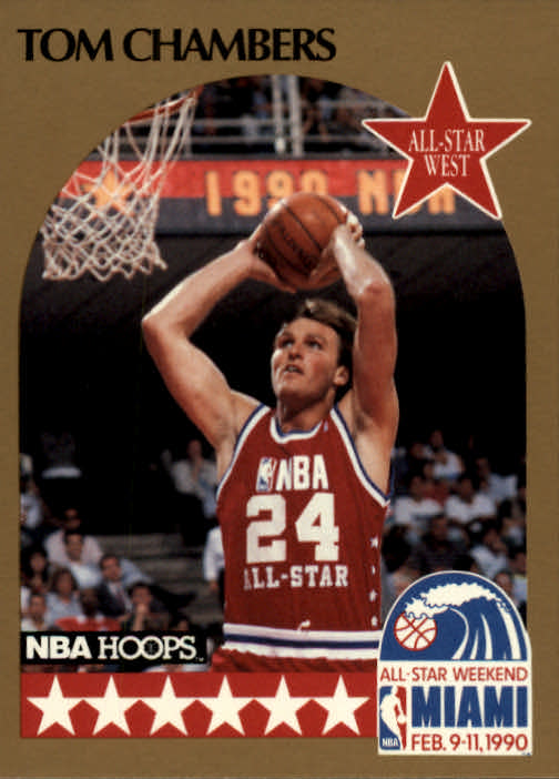 1990-91 Hoops #15 Tom Chambers AS SP