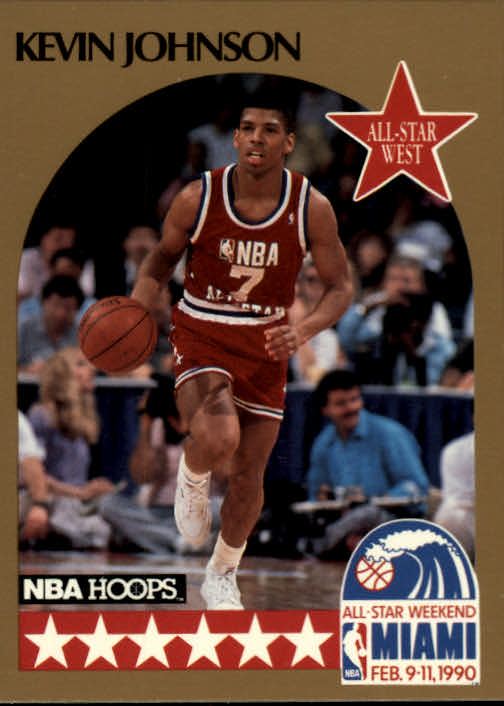 1990-91 Hoops #19 Kevin Johnson AS SP