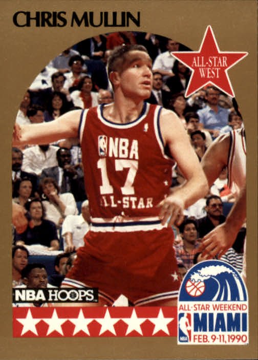 1990-91 Hoops #22 Chris Mullin AS SP