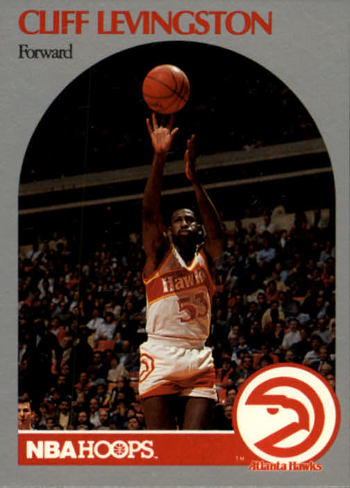 1990-91 Hoops #29 Cliff Levingston SP